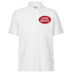 Poloshirt mit gedrucktem Logo