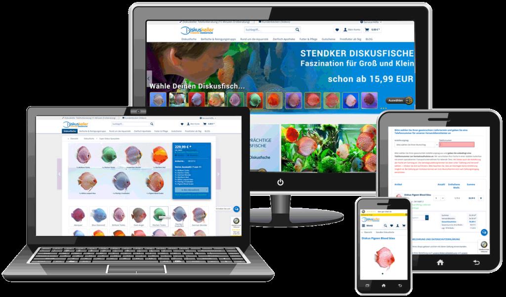 Migration Shopware Referenz Beispiel Diskuskeller