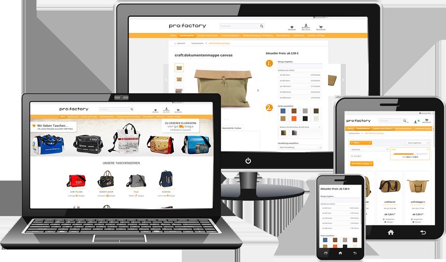 Migration Shopware Referenz Beispiel ProFactory