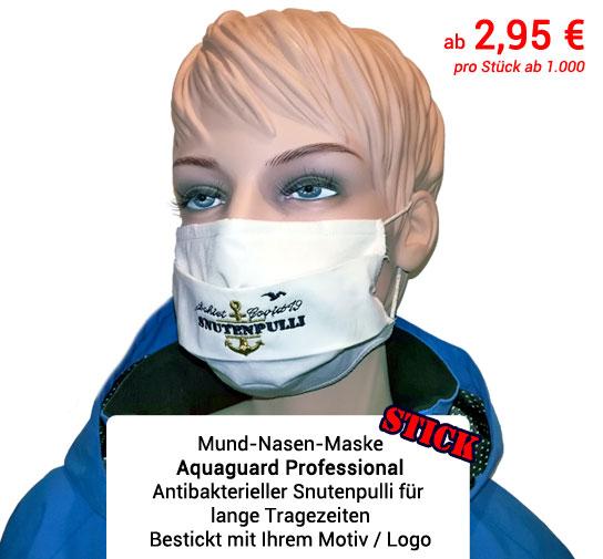 Maskenproduktion Antibakterieller Mundschutz