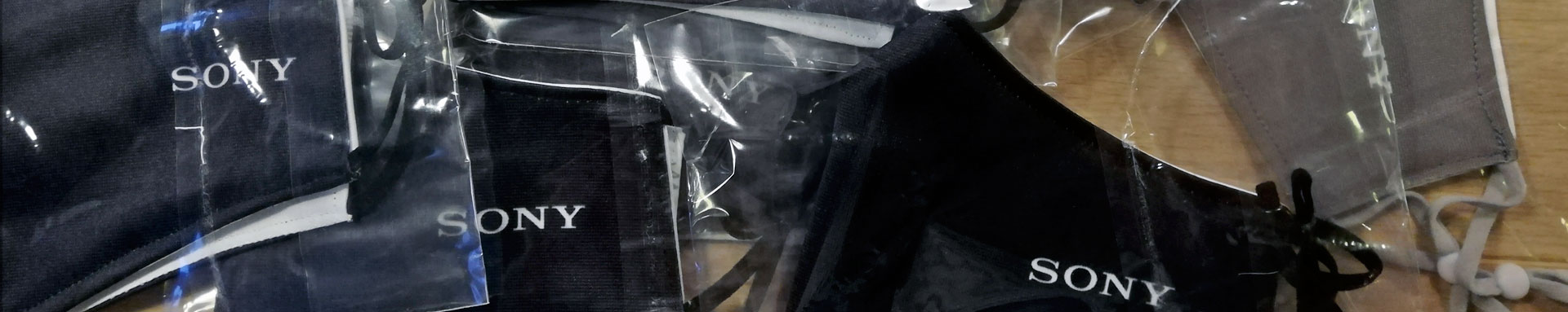 Maskenproduktion Mundschutz bedrucken lassen
